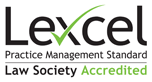 Lexcel Law Society Accredited